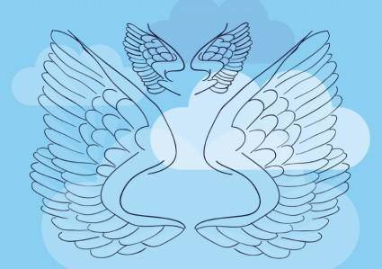 free vector Wings Vector Illustration
