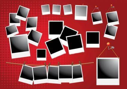 free vector Polaroid Frame Vectors