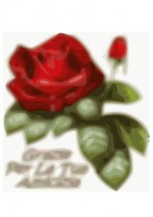 free vector Rose-amicizia