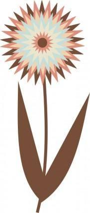free vector Chocolate Flower