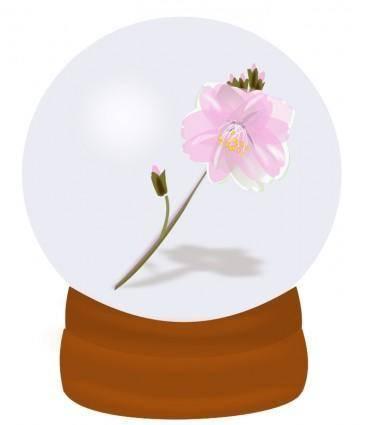free vector Flower globe