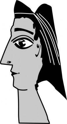 free vector Picasso_sculpture_2
