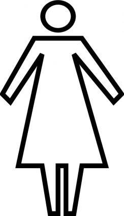 free vector Generic woman