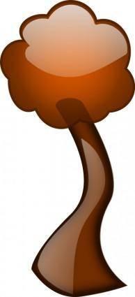 free vector Glossy Tree 2