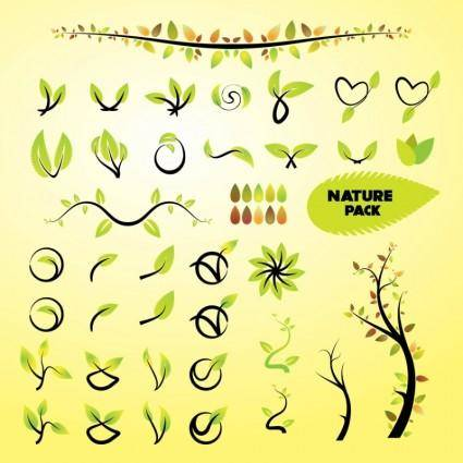 Nature Vector Art Graphics
