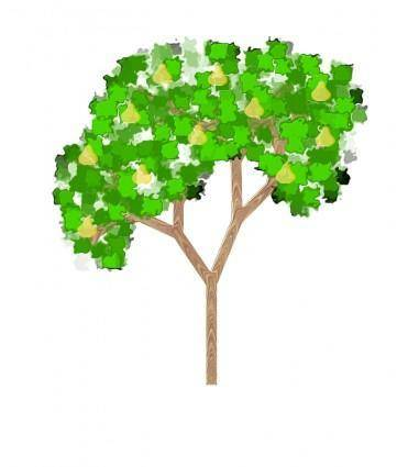 free vector Pear Tree