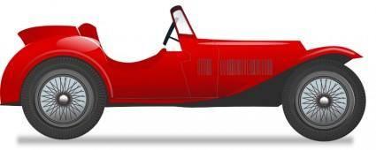 Vintage race car