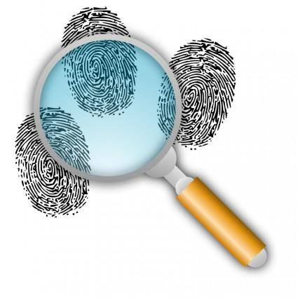 free vector Search for Fingerprints