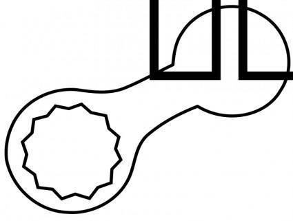 Symbol Ring Spanner 1