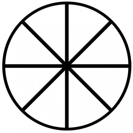 free vector Ether symbol