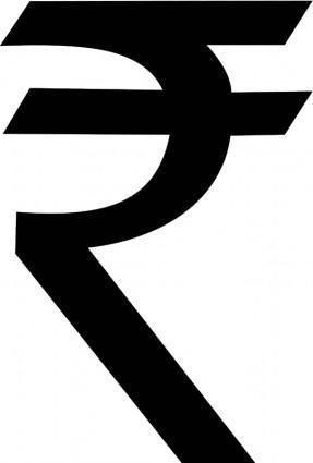free vector Indian Rupee Symbol