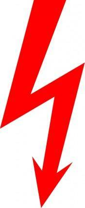 Electric sign «lightning»