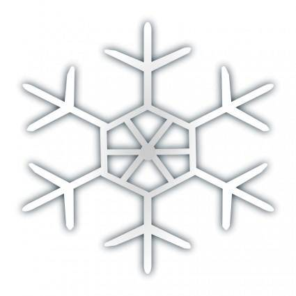 free vector Snow flake icon 4
