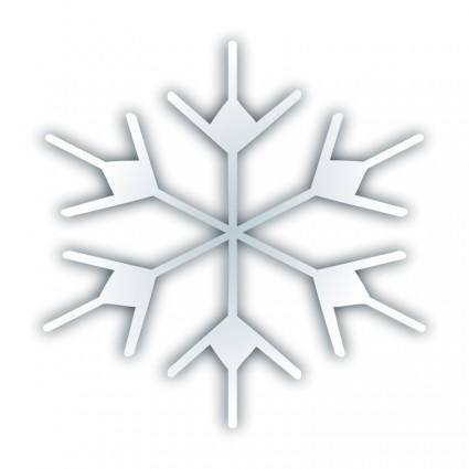 free vector Snow fake icon 2
