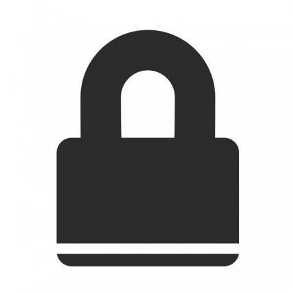 free vector Padlock Icon