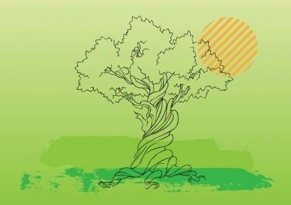 free vector Tree Vector Illustration