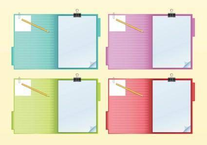 free vector Notebook Vectors