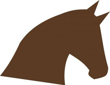 free vector Tête de cheval