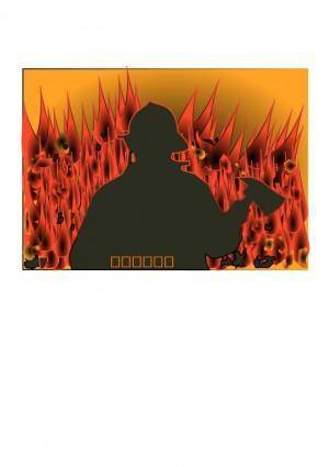 free vector Fireman enrique meza c 01