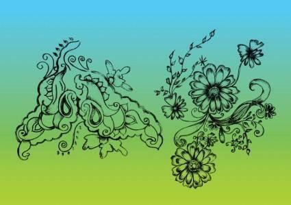 Nature Vector Drawing