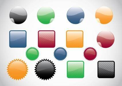 free vector Web Buttons Vectors
