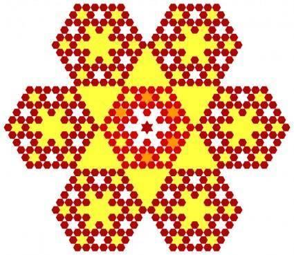 Honeycomb flakes