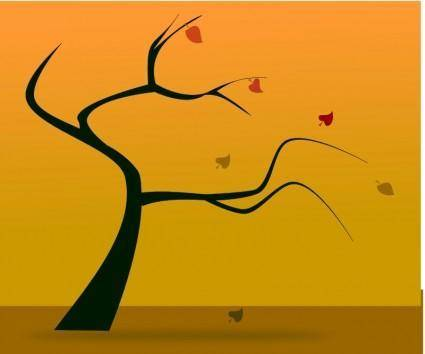 Fall silhouette 2