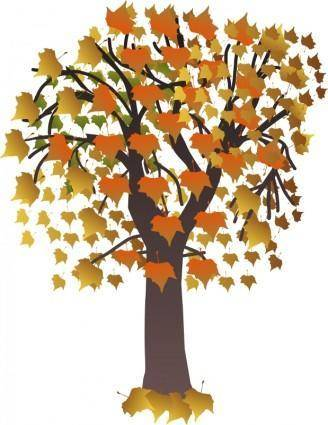 free vector Maple autumn