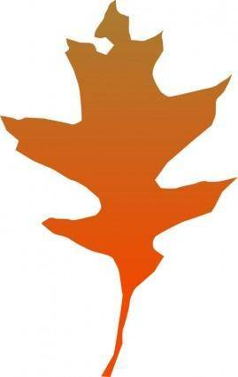 free vector Leaf oak