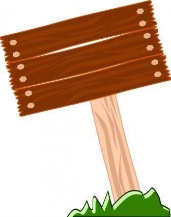 Aviso madera