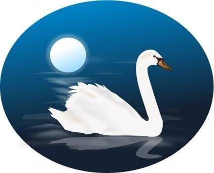 free vector Swan