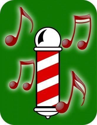 free vector Barbershop Quartet (Abstract)