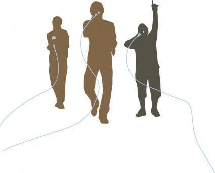 free vector Hip Hop Trio