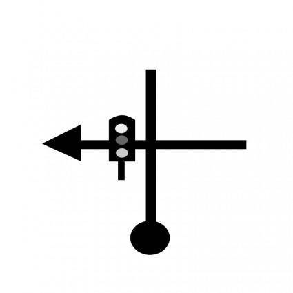free vector TSD-signal-take-left-road