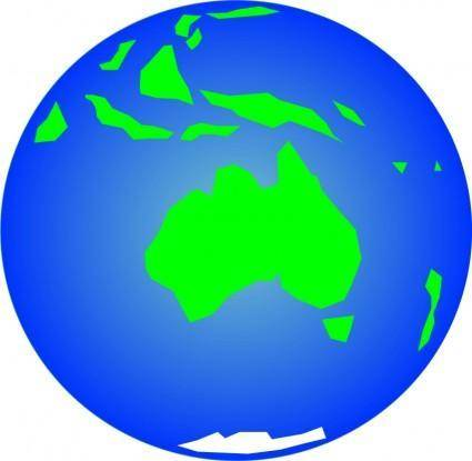 free vector Earth (Other View)