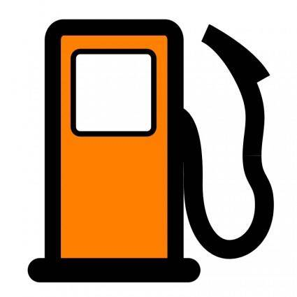 free vector Fuel pump map POI