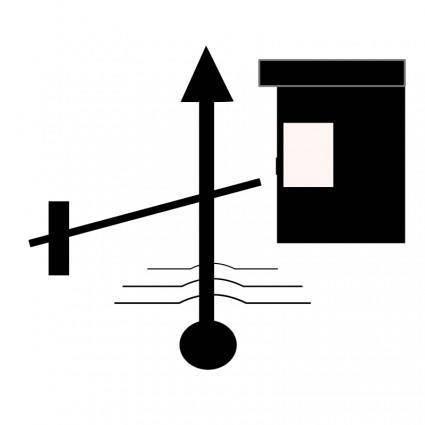 free vector TSD-Toll-gate-ahead