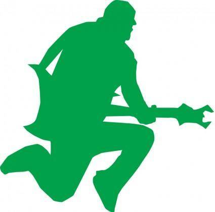 free vector Guitar star