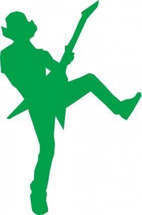 free vector Guitar hero