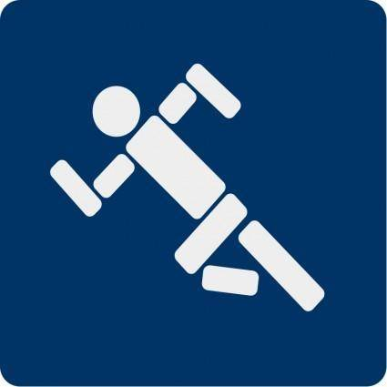 Running pictogram