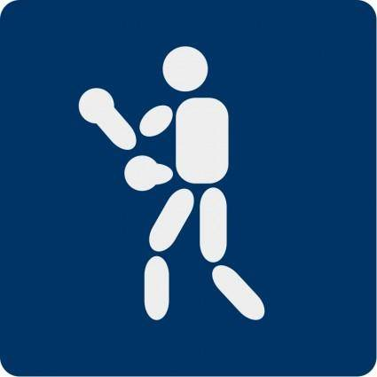 Boxing pictogram