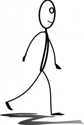 free vector Al walking