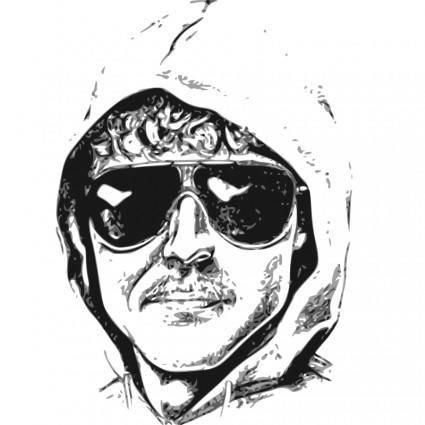 free vector Unabomber