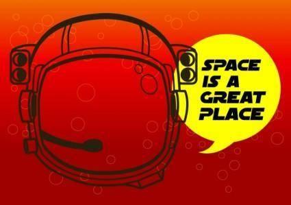 free vector Astronaut Helmet