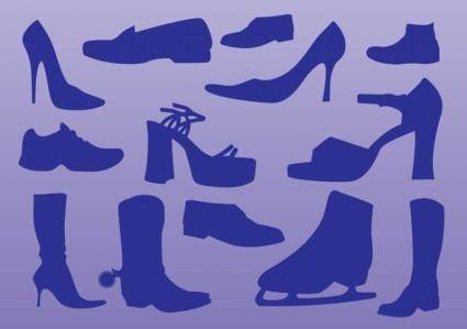 free vector Shoes Vectors