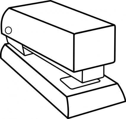 free vector Agrafeuse / stapler