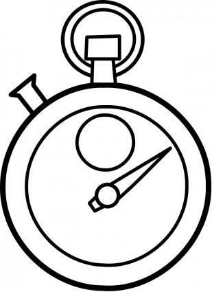 free vector Chronomètre / chronometer
