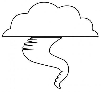 free vector Tornado