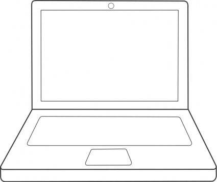 free vector Ordinateur portable / laptop
