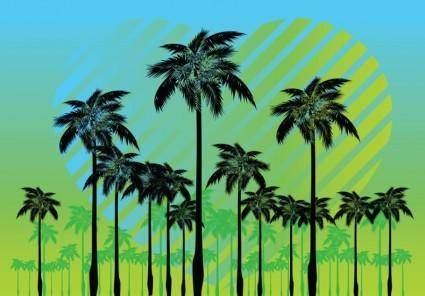 free vector Free Palm Tree Vectors